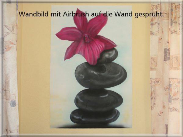 Bild: Wandbild Airbrush