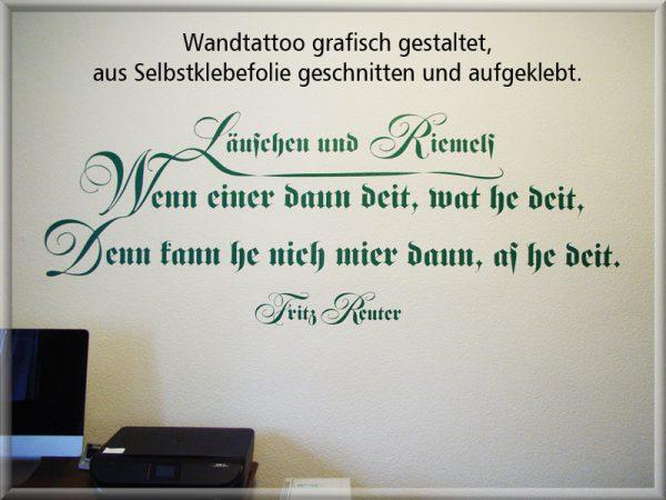 Bild: Wandtattoo