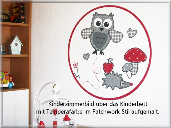 Bild: Wandmalerei Kinderzimmer