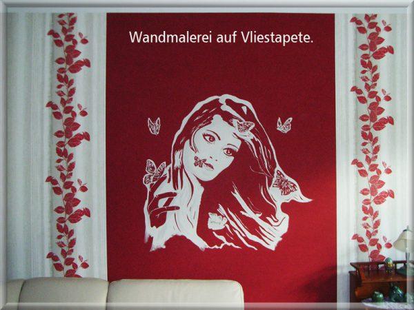 Bild: Malerei auf Vliestapete