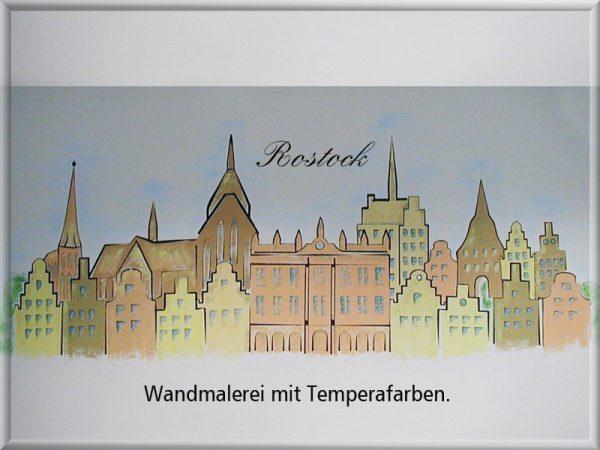 Bild: Wandmalerei Rostock