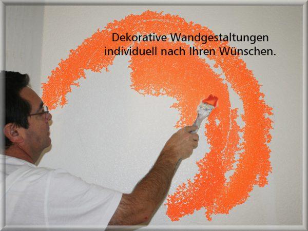 Bild: Dekorative Wandgestaltung