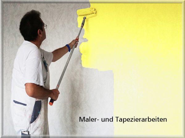 Bild: Maler- und Tapezierarbeiten