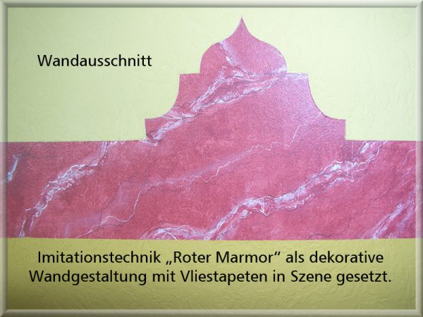 Bild: Ausschnitt Roter Marmor