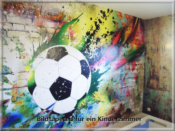 Bild: Kinderzimmer mit Bildtapete