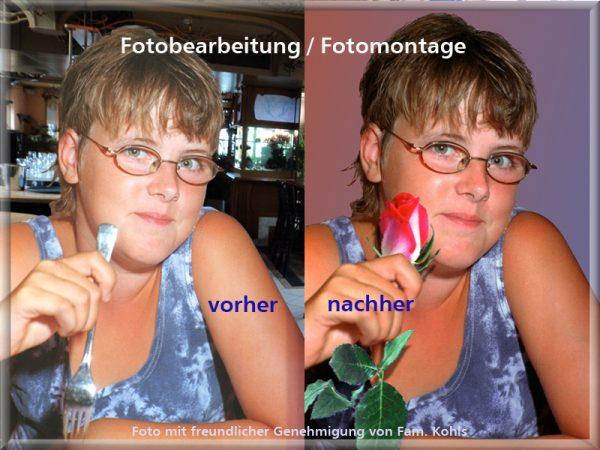 Bild: Fotobearbeitung / Fotomontage